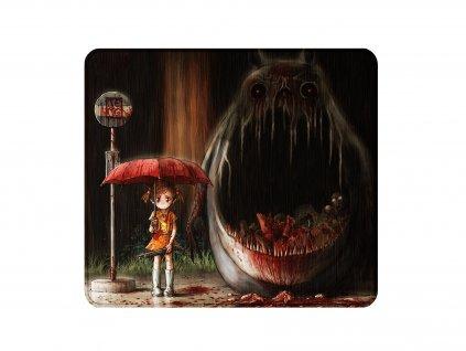 Podložka pod myš Horror version of Totoro - 450 x 400 mm
