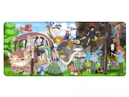 Podložka pod myš Heroes of Ghibli Studios - 900 x 400 mm