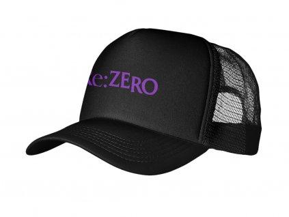 Black logo ReZero Mock up Snapback RAP 5P UMÍSTĚNÍ NA ESHOP (v1.01)