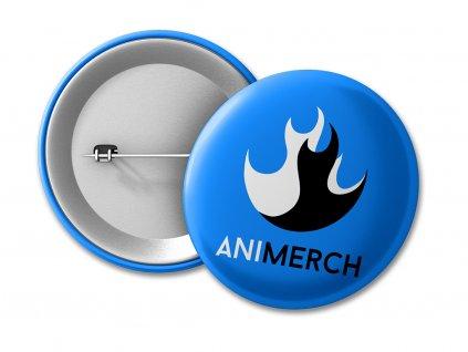 Animerch blue Placka 50 UMÍSTĚNÍ NA ESHOP (v1.01)