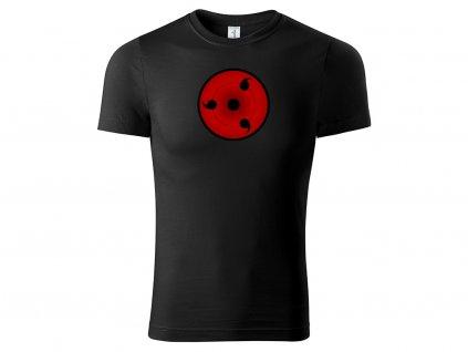 Tričko Sharingan černé