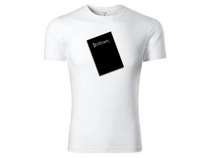 Tričko Death Note bílé