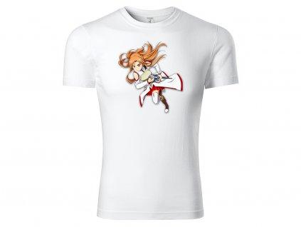 Tričko Asuna Fight style bílé
