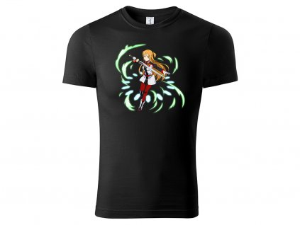 Tričko Asuna černé