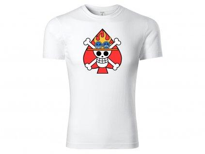 Tričko bílá Ace CLASSIC MOCK UP