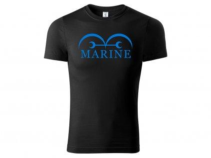 Tričko Marine černé