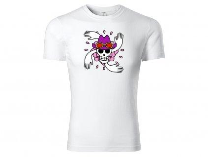 Tričko Robin bílé