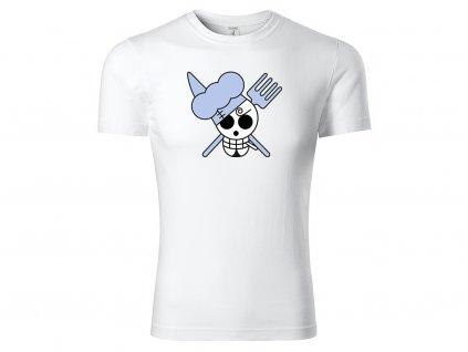 Tričko Sanji bílé