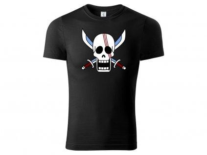 Tričko Shanks černé