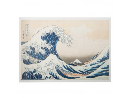 the great wave japanese postcard 1