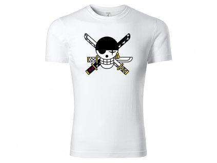Tričko Zoro bílé