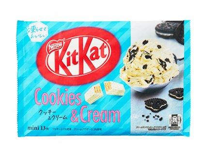 kit kat mini cookies and cream