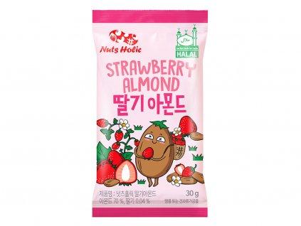 nuts holic strawberry almond