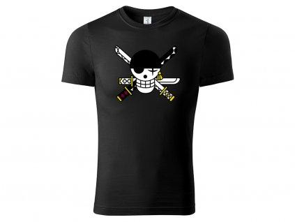 Tričko Zoro černé