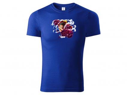 Tričko Luffy Bounce Man modré