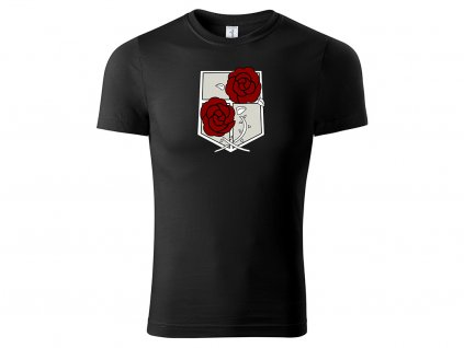 Tričko Garrison černé