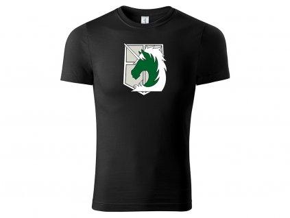 Tričko Military Police Brigade černé