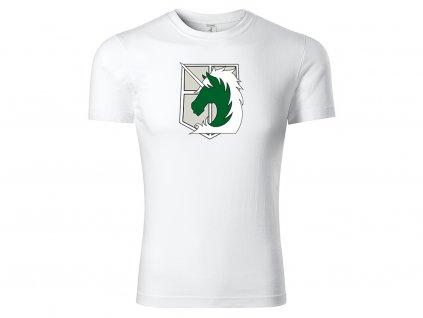 Tričko Military Police Brigade bílé