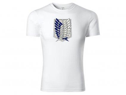 Tričko Survey Corps bílé