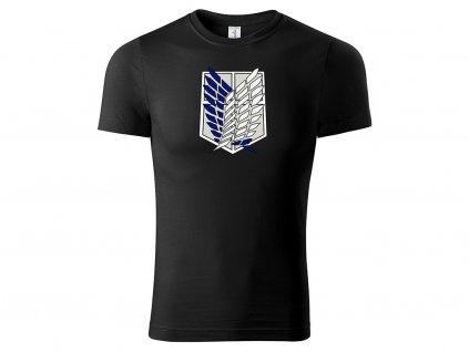 Tričko Survey Corps černé