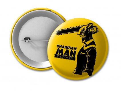 Chainsaw Man logo Placka 50