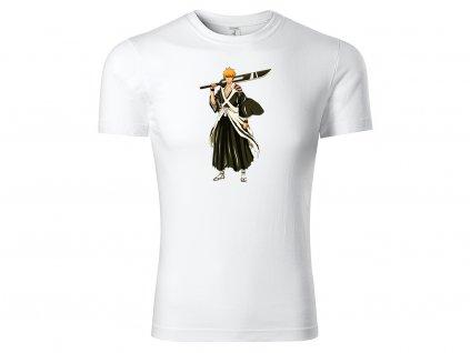 Tričko Kurosaki Ichigo bílé