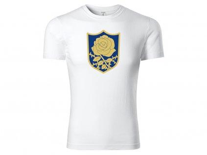 Tričko bílé Blue Rose CLASSIC MOCK UP