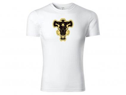 Tričko Black Bulls bílé