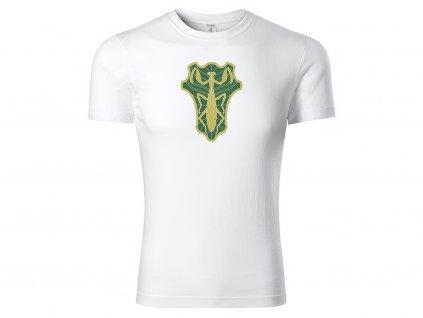 Tričko Green Mantis bílé