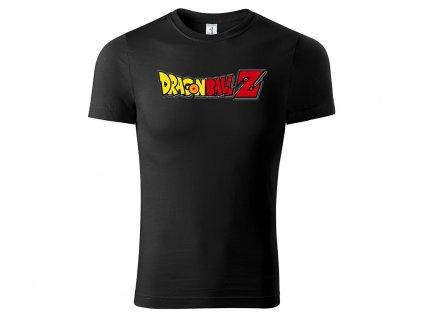 Tričko černé DragonBall logo CLASSIC MOCK UP