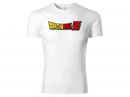Tričko logo Dragon Ball bílé