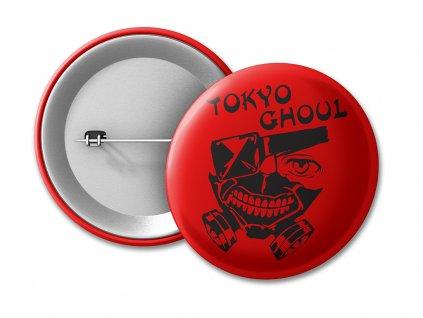 BUTTON logo černé červená NA E SHOP