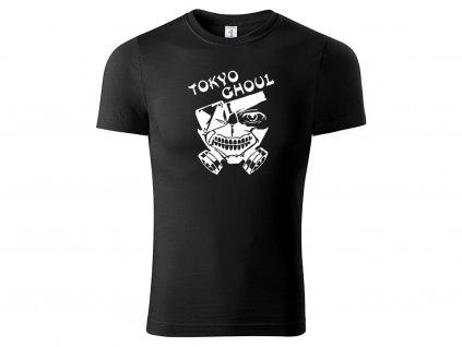 Tričko logo Tokyo Ghoul černé