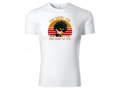 Tričko Plus Ultra bílé