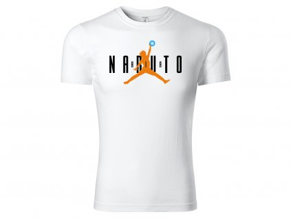 Tričko Naruto Air bílé