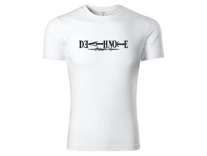 Tričko logo Death Note V2 bílé