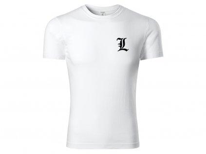 Tričko L Minimalist bílé