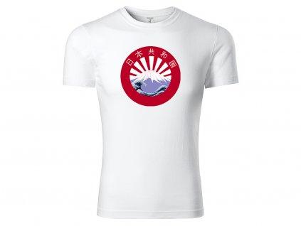 Tričko Japanland bílé