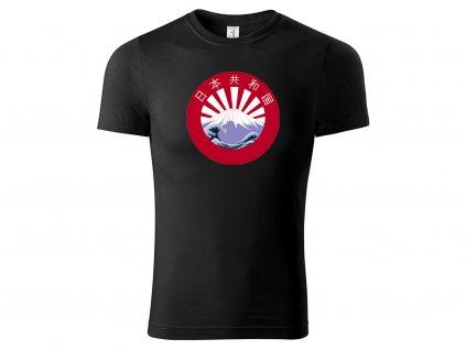 Tričko Japanland černé