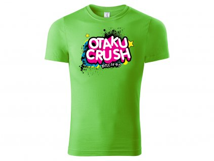 Tričko Otaku Crush limetková