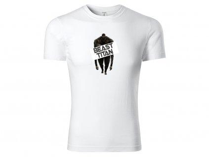 Tričko bílé TITAN CLASSIC MOCK UP