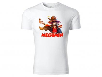 Tričko Megumin bílé