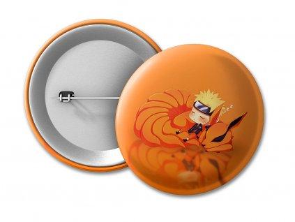 Naruto a kurama chibi