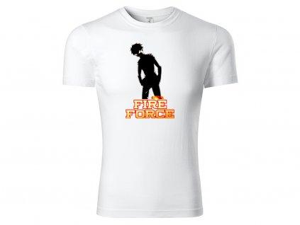 Tričko Fire Force bílé