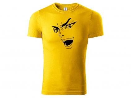 Tričko Dio Face žluté