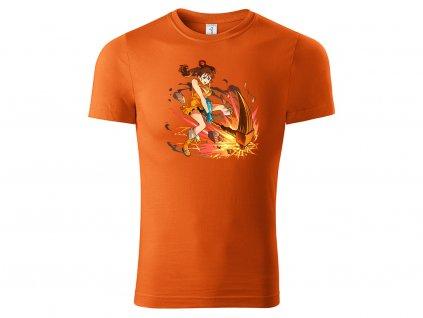 Diane oranžové