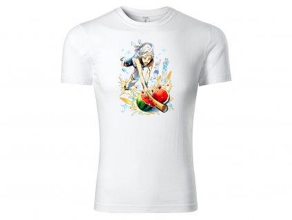 Tričko Atsushi vs. Melone bílé