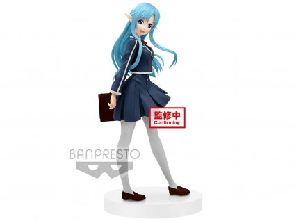 Banpresto Figurka Asuna School Uniform