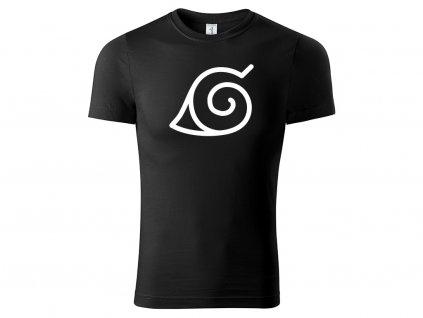 Tričko Konoha černé