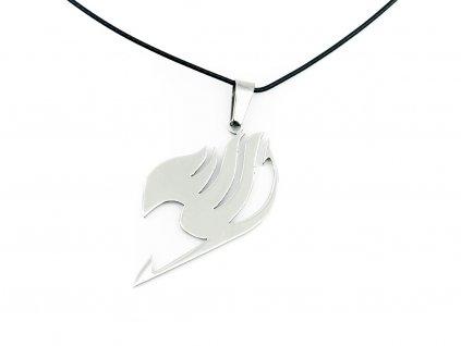 Fairy Tail Náhrdelník Logo Silver